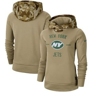 Women's New York Jets Pullover Hoodie